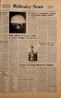 The Wellesley News (04-11-1975)