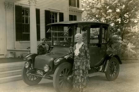 President Ellen Fitz Pendleton. c. 1931-1936