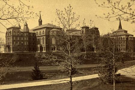 College Hall, c. 1875-1914